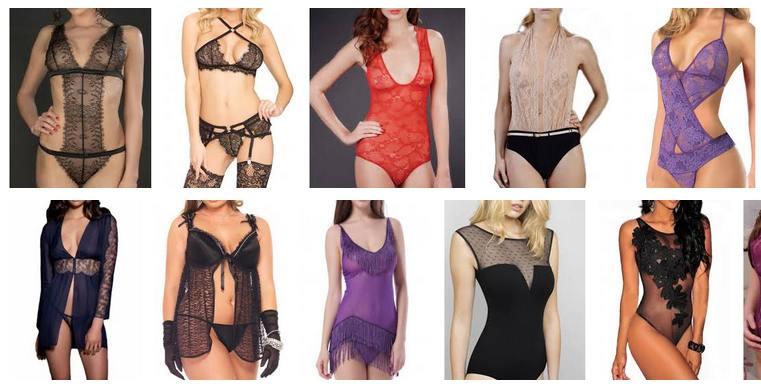 collections de lingerie sexy