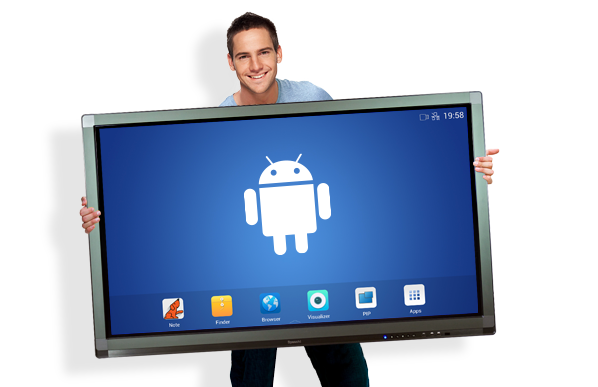 ecran tactile geant android